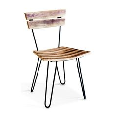 Hairpin Oak Cafe Chair Cafe Chairs, Hairpin, Wood Colors, Table, People, Furniture, Home Decor, Decoration Home, Room Decor