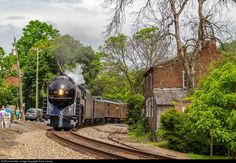 RailPictures.Net Photo: NW 611 Norfolk & Western Steam 4-8-4 at Delaplane, Virginia by Dave Carney