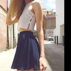 BRANDY MELVILLE NAVY BLUE SKIRT Brand new condition Brandy Melville Skirts