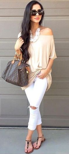 #summer #alyssa #outfits | Light Neutrals