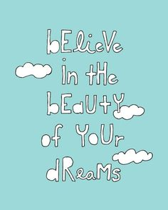 Believe in the Beauty of Your Dreams [Collistar]