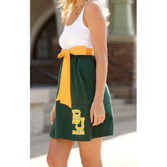 #Baylor Babydoll Bowtie Dress -- cute!!