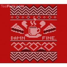 Damn Fine Sweater - twin peaks