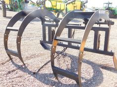 """2015 Lucas Metal Works Grapple 84 For Sale $695.00 Seven foot wide with a 33"""" wide jaw. Weld on to any Material Bucket. Hydraulic Large Capacity Grapple.  I'm Sean. Call, text, or email for more information 24/7 on my mobile: 843-321-1500 - I am here to help. Thanks for your interest! Team Tractor & Equipment Corp. 21427 N. Black Canyon Highway, Phoenix, Arizona 85027. Yanmar Tractor, Tractors For Sale, Equipment For Sale, Phoenix Arizona, Wishbone Chair, Bucket, Metal, Black, Black People"""