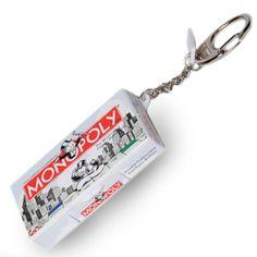 Stupid.com: Monopoly Keychain
