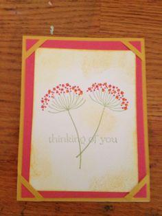 Patti Rod Stampin up card