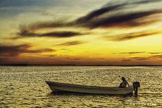 San Felipe a fishermen port in Yucatan Mexico. Located on the Gulf of Mexico.