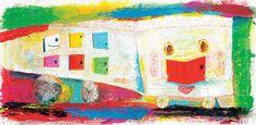 絵本作家 荒井良二 スキマの国の美術館