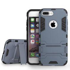 Armor Kickstand Hybrid PC TPU Case For iPhone 7 Plus