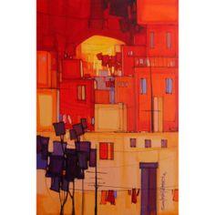Salman Farooqi Urban Landscape, Cityscapes, Contemporary Art, Landscapes, Sketches, Paintings, Denim, Architecture, Gallery