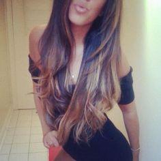 long hair: