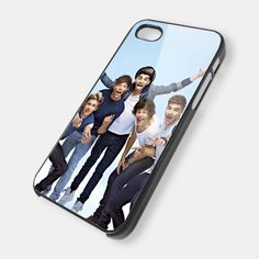 one direction - iPhone 4 / 4S Case - iPhone 5 Case Cover Hard Plastic Case HNF. $14.99, via Etsy.