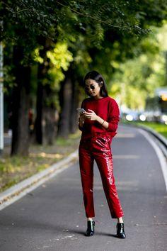 100 streetstyle-образов на Неделе моды в Милане   Vogue Ukraine