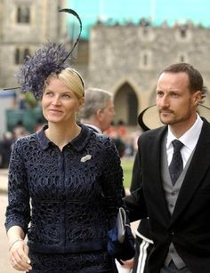 HRH Crown Prince Haakon and Crown Princess Mette-Marit of Norway