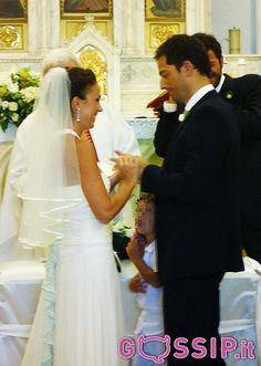Luca Capuano e Carlotta Lo Greco nel giorno delle nozze