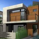 Fachadas de casas modernas y minimalistas : Fotos de casas