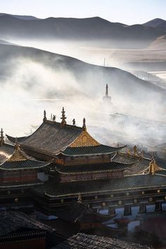 China Travel Inspiration - Travel around the world Ancient architecture in Sichuang, China.