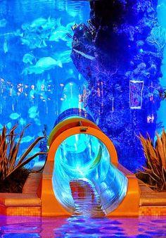 Water Park Hotel, Las Vegas, USA
