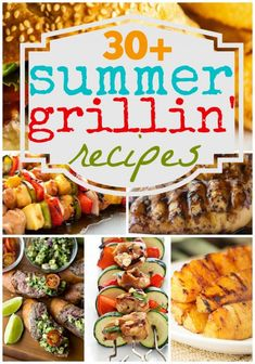 30+ Summer Grillin' Recipes at http://therecipecritic.com 30 AMAZING grilling ideas rounded up for you to grill this summer!