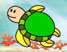 Resultado de imagen para tortuga de agua   animadas