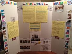5th Grade Tooth decay science project   science fair   Pinterest