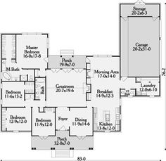 Stannington House Plan - 3521