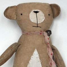 Primitive Bear by Flossie Lime Juice