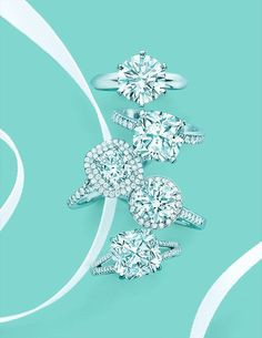 Tiffany & Co.   Diamonds are a Girl's Best Friend