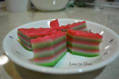 Love to Cheu: Nine layer Nyonya Kuih aka Kuih Lapis