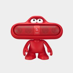 Amazon.com : Beats Dude Stand for Pill Portable Speaker (Red) : MP3 Players & Accessories