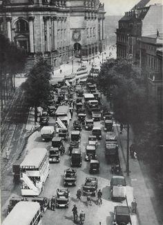 1930er Die Ebertstrasse