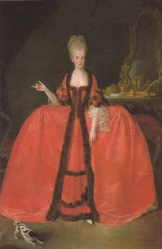 A portrait of Maria Carolina of Austria, Queen of Naples and Sicily, and favorite sister of Marie-Antoinette.) To quote. Historical Costume, Historical Clothing, Marie Antoinette, Roi Louis, Louis Xiv, Maria Theresia, Royal Marriage, 18th Century Fashion, 17th Century