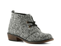 Dirty Laundry Pitch Tweed Bootie