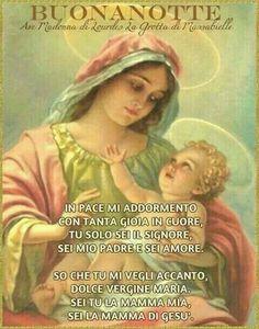 Buonanotte con Gesù e Maria