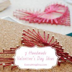 7 Handmade Valentine's Day Ideas - Simpl & Sweet!!  EverythingEtsy.com