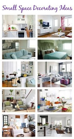 Small Space Decorating Ideas - Up to Date Interiors