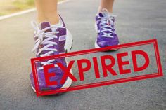 Running Shoes, when they expire
