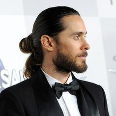 Jared Leto. | An Important And Definitive Ranking Of Celebrity Man Buns