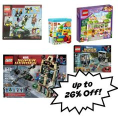 We have asked our readers what deals they are wanting this holiday and the #1 answer was LEGO.... So I have here a way to save up to 26% off your LEGO purchase. Get the details here --->  http://www.coupondad.net/lego-deals-26-off-hurry-gone/ #lego #giftideas