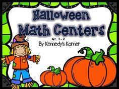 Halloween Math Centers are fun for all! Be sure to check out  the preview to see everything that is included in this product.  The CCSS that are covered in this unit are as follows:What is Missing ? -  2. OA Fact Friends  2.OACandy Fact Families  2. OAWhich is More? -  2.OATrue or False ?  2.OAOdd or Even ?  2.OAMeasure the Monster  2.MD