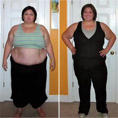 Emily Sandford lost 113 poundswith running, yoga, swimming, kettlebells, and weight training. #FlauntIt