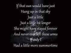 Jason Aldean - A Little More Summertime (New Lyrics 2016)