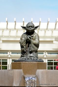 Skywalker Ranch Yoda <-- Been there! So cool :)