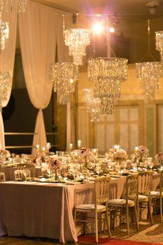 Glamorous Rose Gold Wedding | photography by http://emiliajanephotography.com/