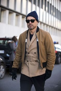 See the best dressed men who turned up to Milan fashion week A/W '16. January 2016.