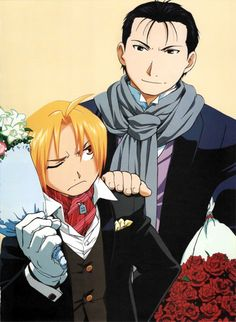 Edward Elric and Roy Mustang  _Fullmetal Alchemist Brotherhood