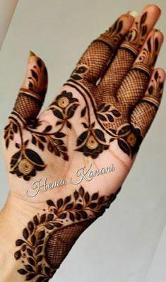 Short Mehndi Design, Arabic Bridal Mehndi Designs, Mehndi Designs Feet, Wedding Henna Designs, Mehndi Designs Book, Floral Henna Designs, Mehndi Designs For Girls, Stylish Mehndi Designs, Mehndi Design Photos