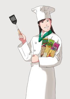 chef.quenalbertini: Chef illustration