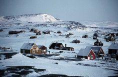 In 1930, there was an Eskimo fishing village on Lake Anjikuni, in Canada.