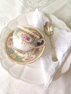 Vintage Queen Anne Regency Pattern English Fine by MariasFarmhouse